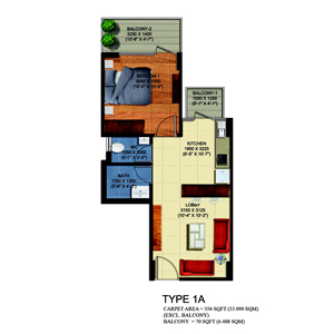 63A Golf Drive Gurgaon Floor Plans